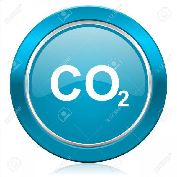De quel gaz la glace carbonique est-elle le résultat de la solidification ?