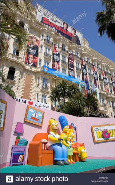 Combien de fois la famille Simpson a-t-elle visité la France ?