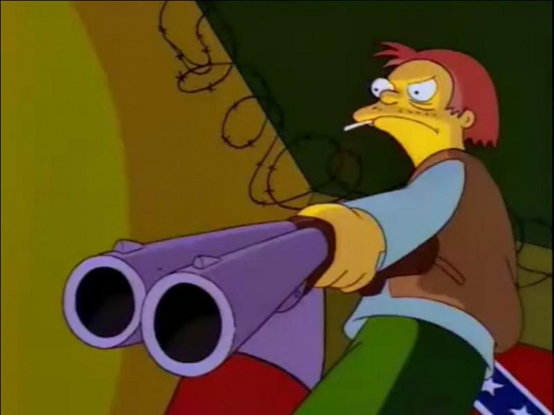 Comment s'appelle le propriétaire de l'armurerie de Springfield ?