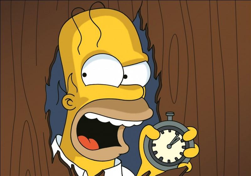 Quel est le prénom du père de la famille Simpson ?