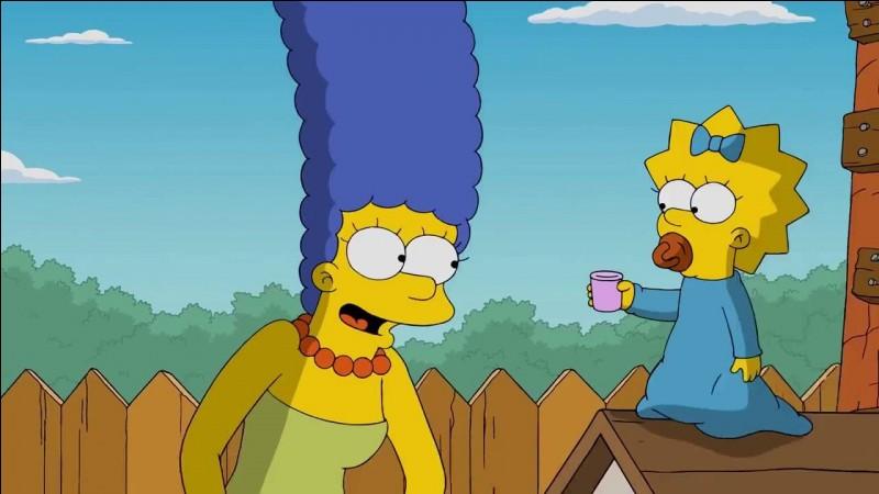 Quel est le prénom de la mère de la famille Simpson ?