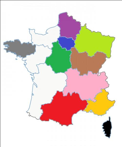 Quel est le nom de cette région en rose ?