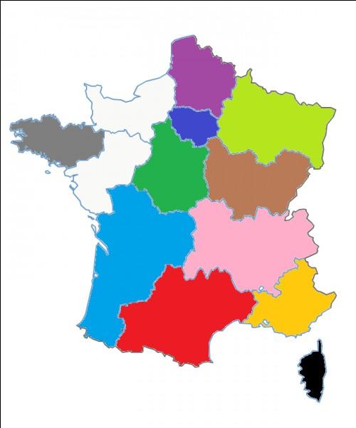Quel est le nom de cette région en bleu clair ?