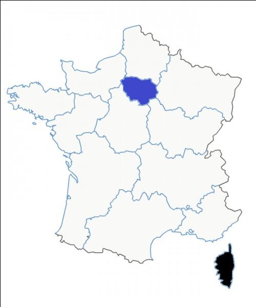 Quel est le nom de cette région en noir ?