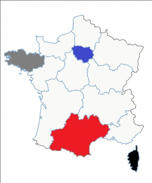 Quel est le nom de cette région en rouge ?
