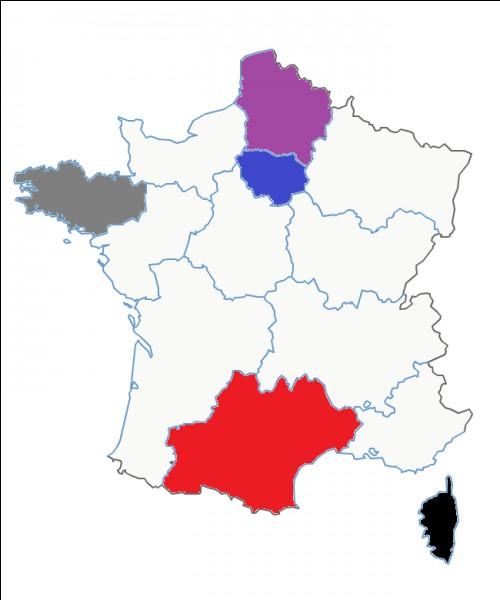 Quel est le nom de cette région en violet ?