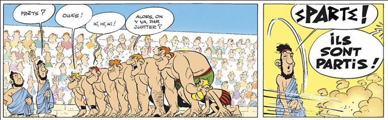 On a beau dire, tous les Grecs ne furent pas philosophes... Il fut une cité où lâches et déserteurs étaient privés de leur plus viril attribut. Lequel et où ?