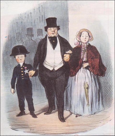 Combattre, entreprendre, mais aussi coloniser : le 19e siècle se présente comme le retour de la virilité exacerbée. Quel est le symbole de la bourgeoisie ?
