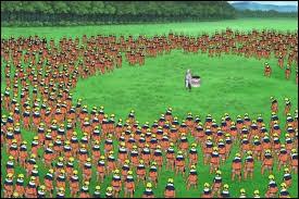 Qui est venu en aide à Naruto face à Kimimaro?
