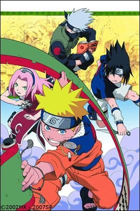 Quel est le numéro de l'unité Kakashi, Sasuke, Sakura et Naruto ?