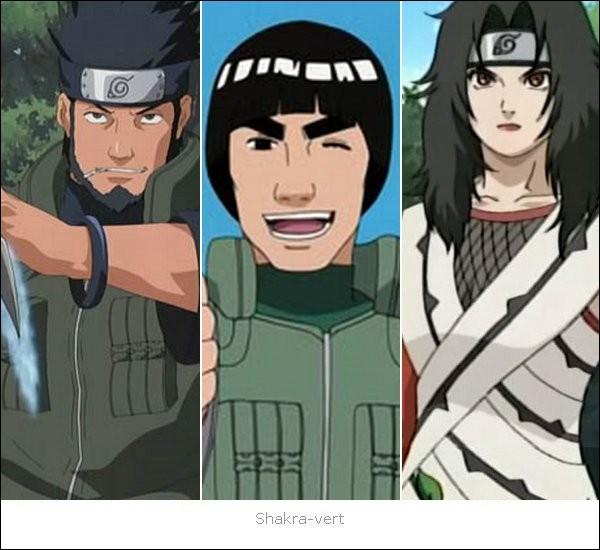 Quel est le nom de ces trois shinobis ?
