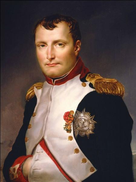 Pourquoi Napoléon Bonaparte gardait-il la main dans sa veste, ce que l'on voit sur les tableaux ?