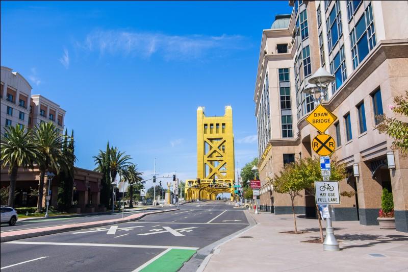 Quelle est la capitale de l'État de Californie ?