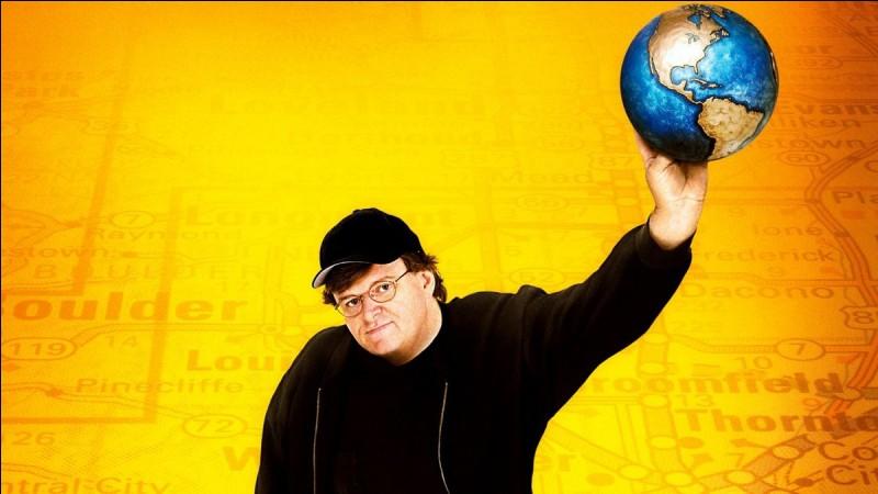 """""""Bowling for Columbine"""" est un long-métrage réalisé par Michael Moore."""