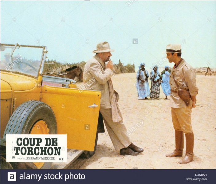 """""""Coup de torchon"""" est un film interprété par Philippe Noiret."""
