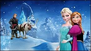 """Cepeda interpréta une chanson de """"La Reine des Neiges"""" pour un spectacle de son école :"""