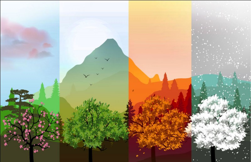 Qu'est-ce qui nous apporte les saisons ?