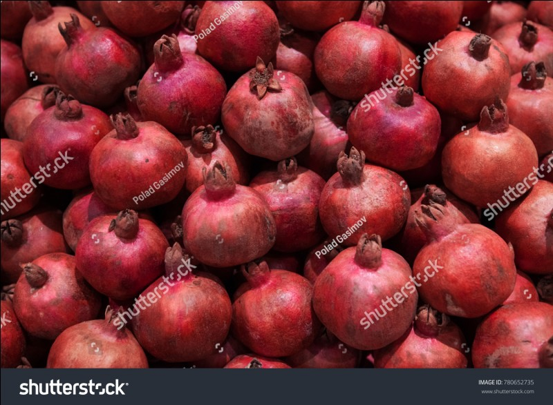Quel fruit originaire de l'Asie est le symbole de l'amour et de la fécondité ?