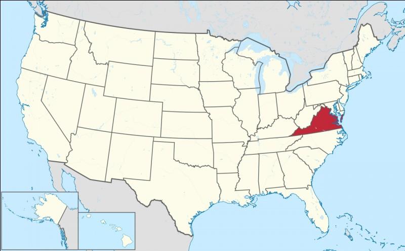 Capitale : RichmondHabitants : 8 001 024À Voir : Back Bay National Wildlife RefugePatrie de George Washington Quel est cet État ?