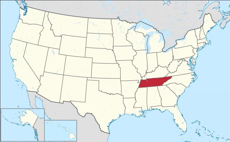Capitale : NashvilleHabitants : 6 346 105À Voir : GracelandPatrie de Quentin Tarantino Quel est cet État ?