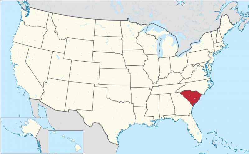 Capitale : ColumbiaHabitants : 4 625 364À Voir : St. Helena's Anglican ChurchPatrie de James Brown Quel est cet État ?