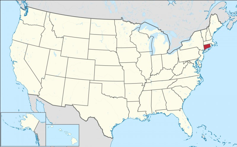 Capitale : HartfordHabitants : 3 574 097À Voir : The Mark Twain House & MuseumPatrie de Glenn Close Quel est cet État ?
