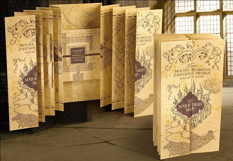 Quel est l'ordre des créateurs de la carte du Maraudeur ?
