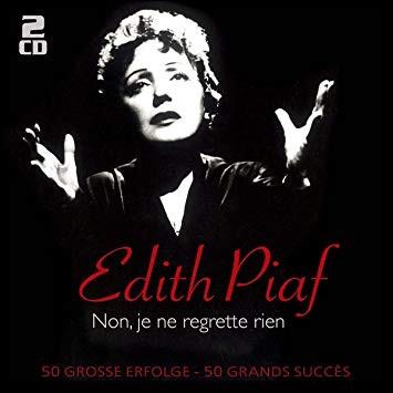 """Complétez les paroles de la chanson """" Non, je ne regrette rien"""" écrite en 1960 : """"C'est payé, balayé, oublié..... """" ?"""