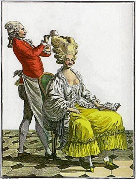 Comment se prénommait son coiffeur, convoité par toutes les dames de la Cour ?