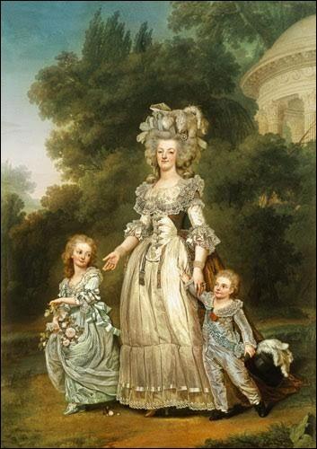 Combien d'enfants Marie-Antoinette a-t-elle eus ?