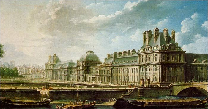Où est-elle contrainte de déménager avec sa famille après la prise de la Bastille en 1789 ?