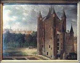 Comment est appelée la prison dans laquelle se retrouve la reine après sa tentative d'évasion ratée ?