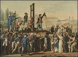 À quelle date Marie Antoinette a-t-elle été exécutée ?