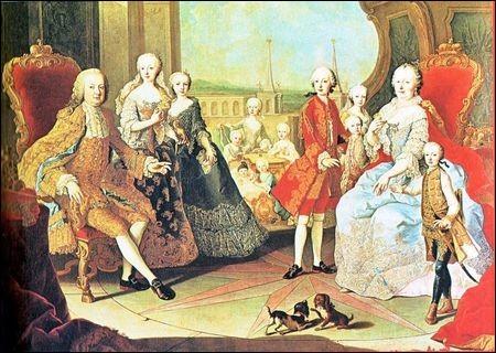 Combien de frères et sœurs avait Marie-Antoinette ?