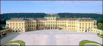 Marie-Antoinette partage son enfance entre le palais de la Hofburg à Vienne et quel autre château ?