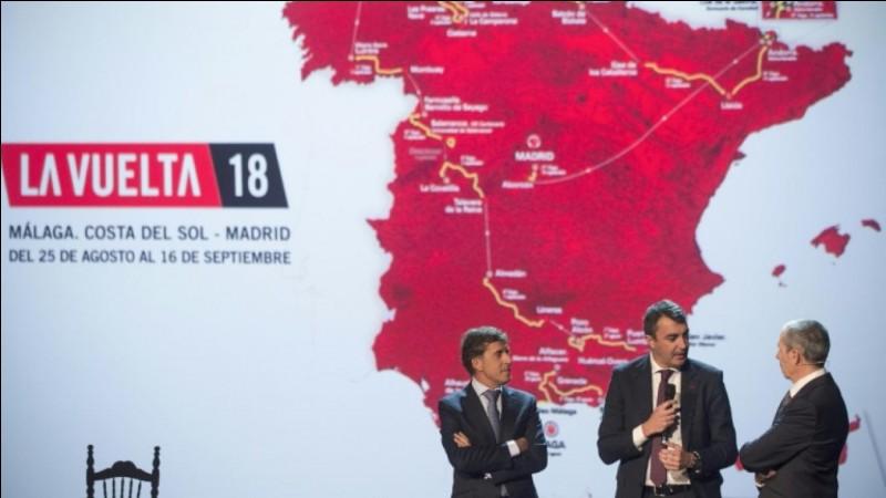 Depuis 2010, quel est le maillot qui désigne le leader du classement général et à terme le vainqueur du Tour d'Espagne ?