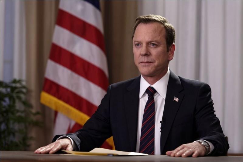 Tom Kirkman est investi président des États-Unis après un attentat qui a frappé le Capitole. C'est dans ...