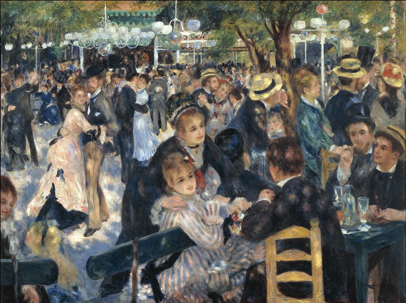 """Qui a peint """"Le Bal au Moulin de la Galette"""" ?"""