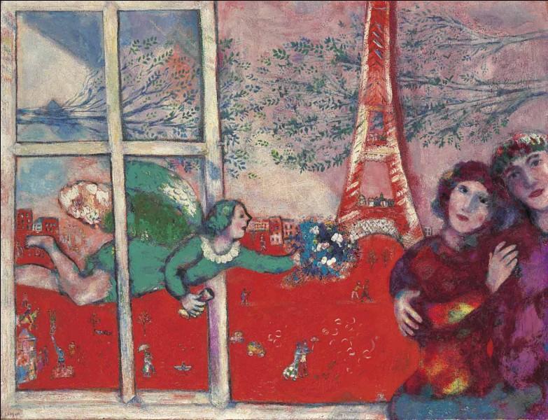 À quel artiste doit-on ce tableau de Paris ?