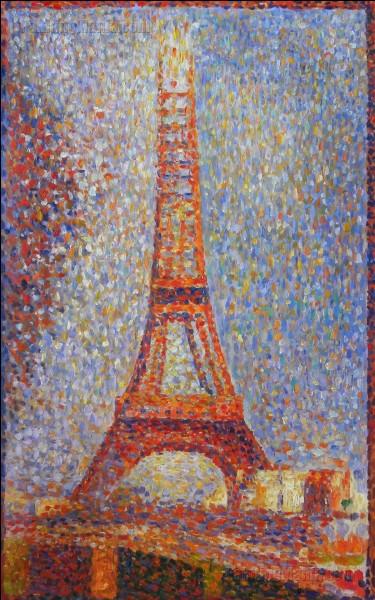 """Qui a réalisé le tableau intitulé """"La Tour Eiffel"""" ?"""