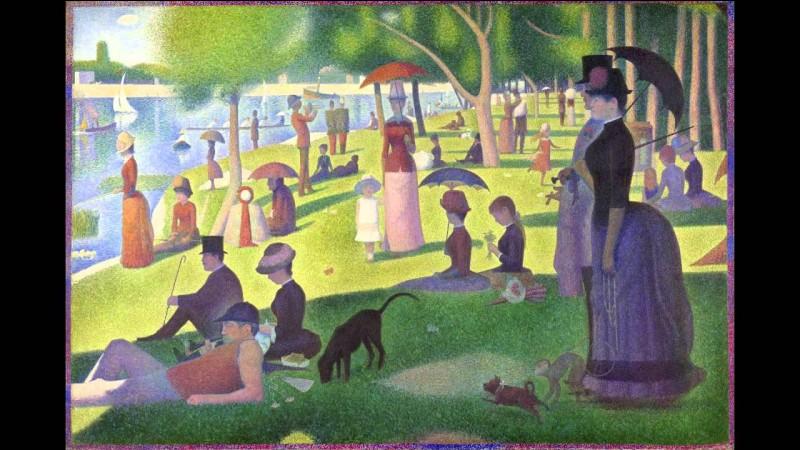 """À qui doit-on le tableau intitulé """"Un Dimanche après-midi à l'île de la Grande Jatte"""" ?"""