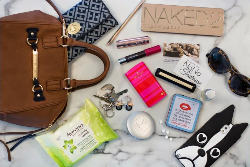 Qu'as-tu toujours dans ton sac ?