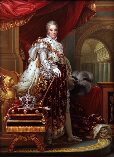 Quel est le nom de la révolution qui chasse Charles X du trône de France, en 1830 ?