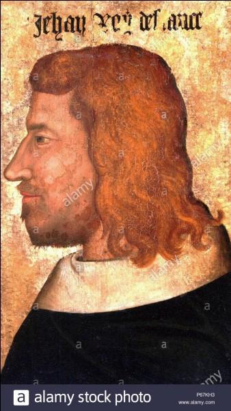 Dans quelle ville Jean II le Bon meurt-il en captivité en 1364 ?