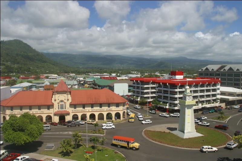 Ville du Pacifique, capitale des Samoa :