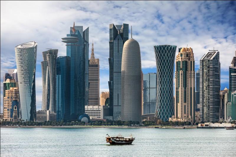 Ville du golfe persique, capitale du Qatar :