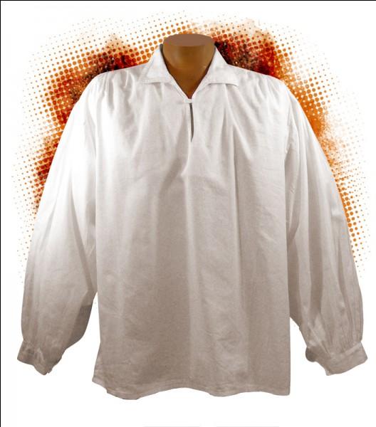 Lorsque Salvador Dali peignait, il adorait porter cette chemise, bien entendu il y a une raison à cela !