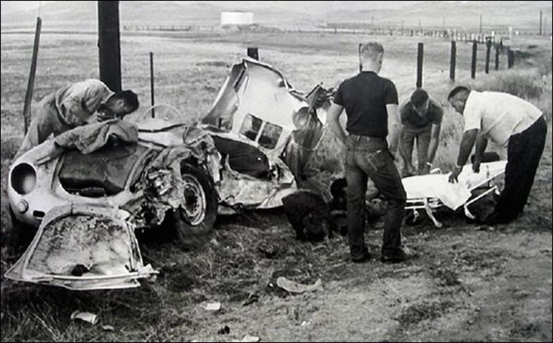 Le 30 septembre 1955, une célébrité mondialement reconnue meurt au volant de sa Porche Spyder 550, laquelle fut surnommée ensuite Little Bastard, car il semble qu'il ne soit pas le seul à avoir trouvé la mort au volant de cette voiture !