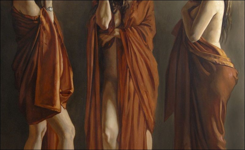 Eurynomé l'océanide lui donna trois magnifiques filles. Qui sont-elles ?