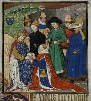 Dans la société médiévale, comment appelait-on un seigneur qui prêtait serment à un seigneur ayant déjà prêté serment à un suzerain ?